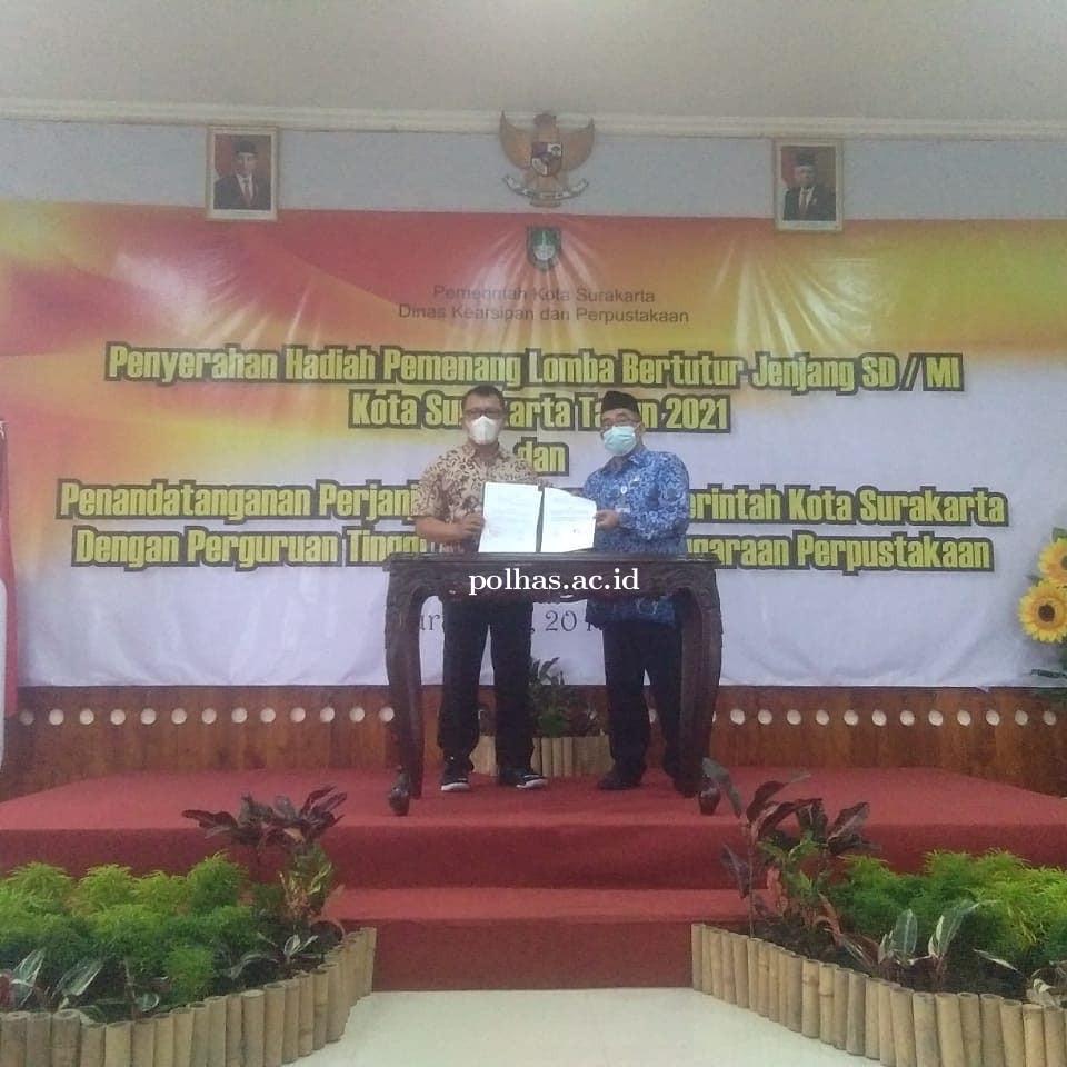 Penandatanganan Kerja Sama Polhas dengan Pemkot Surakarta