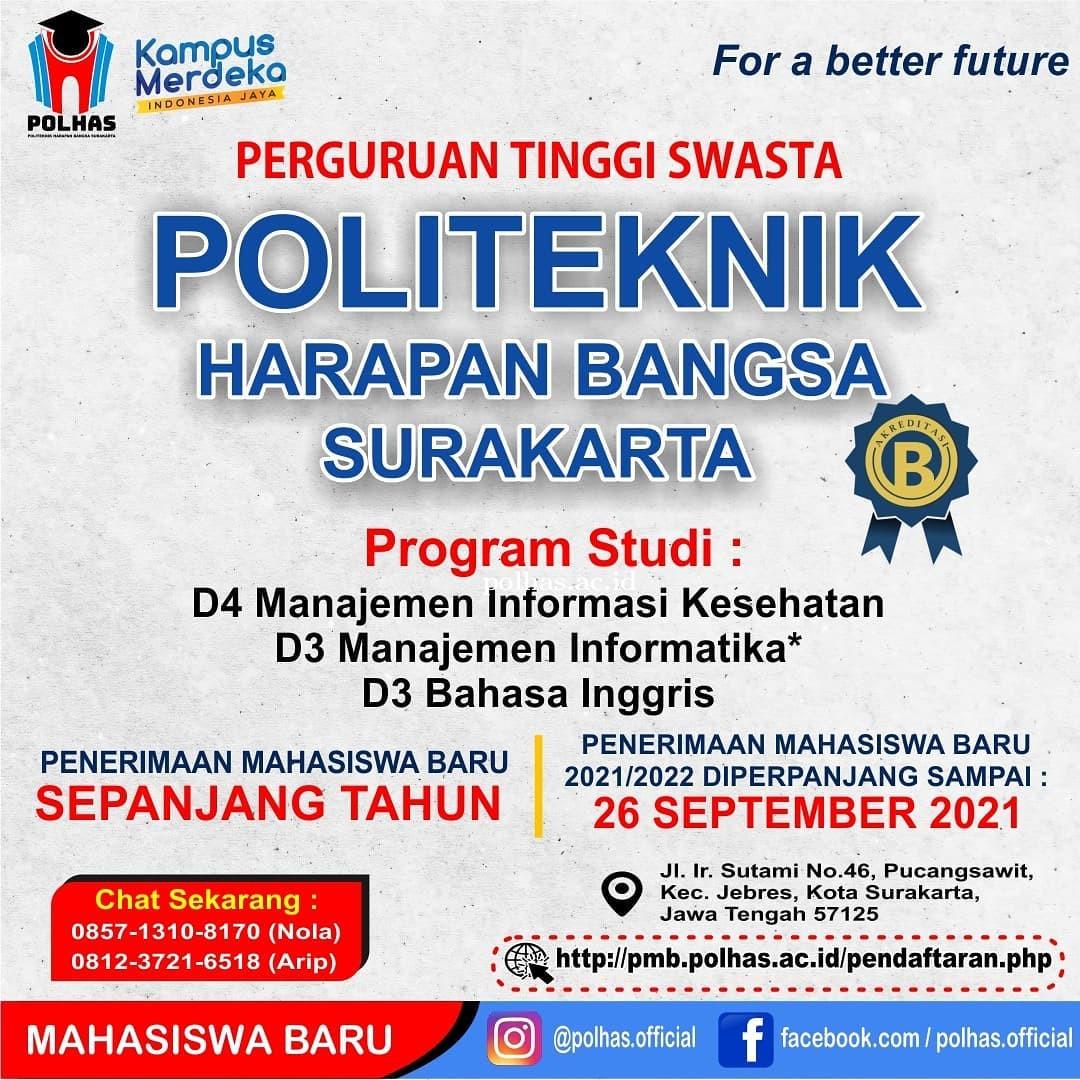Informasi Pendaftaran Mahasiswa BARU (UPDATE)