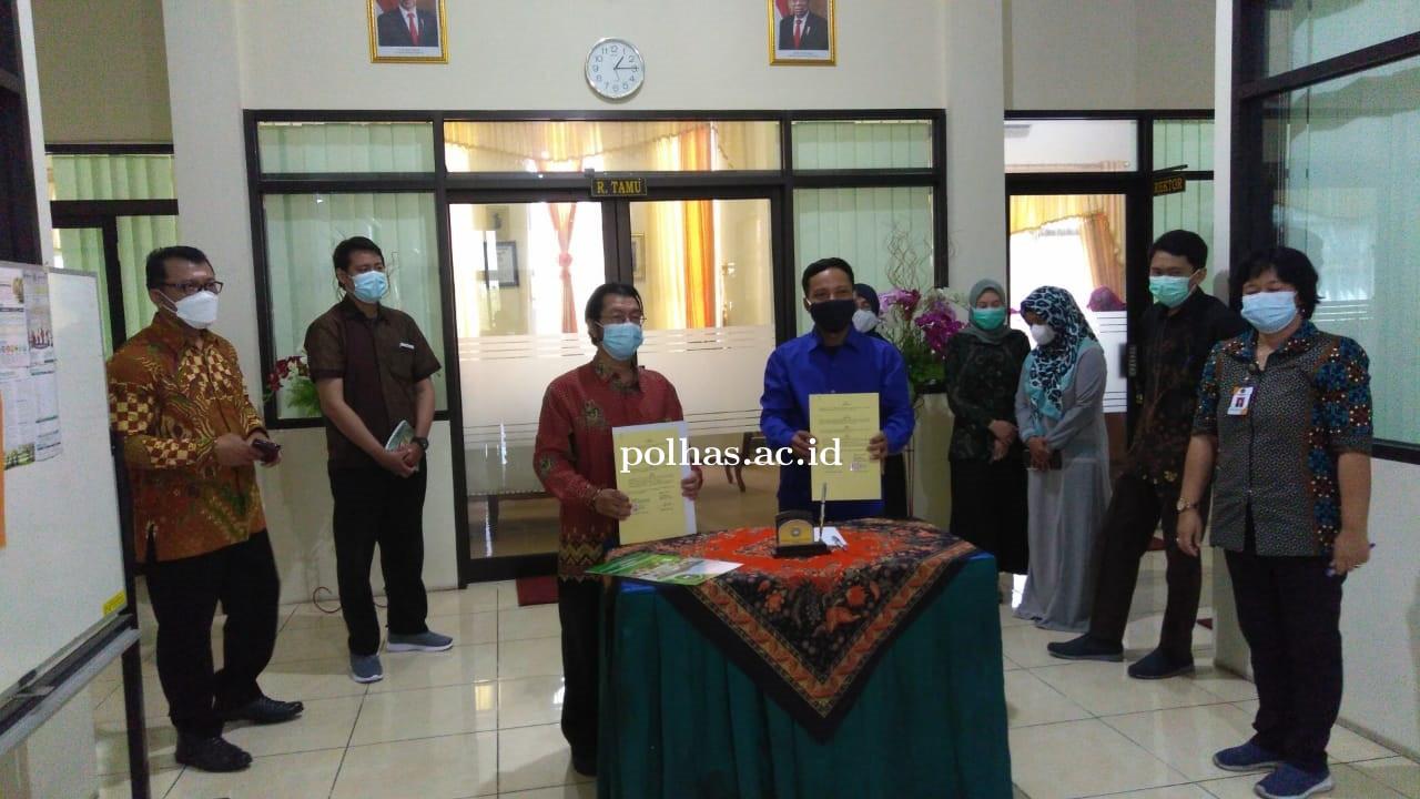 Penandatangan MoU Dan MoA Univet Bantara Sukoharjo dan Politeknik Harapan Bangsa Surakarta